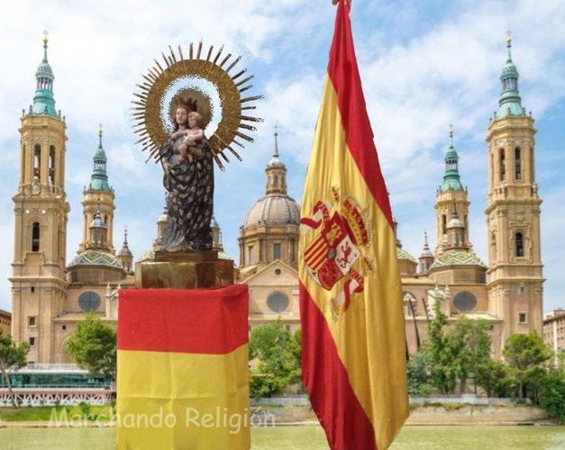 El Pilar simbolo de que la Fe no desaparecerá nunca de España-Marchando Religión