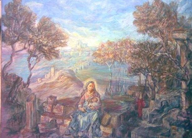 La Belleza física de María-Marchando Religión