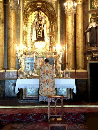 Horarios Misa Tridentina