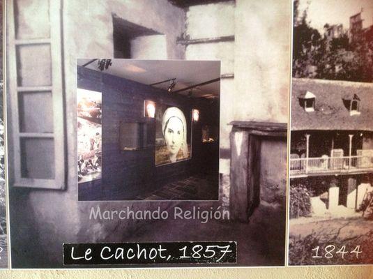 duodécima aparición en Lourdes-Marchando Religión