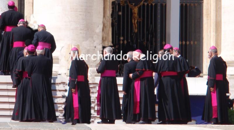 silencio total-Marchando Religión