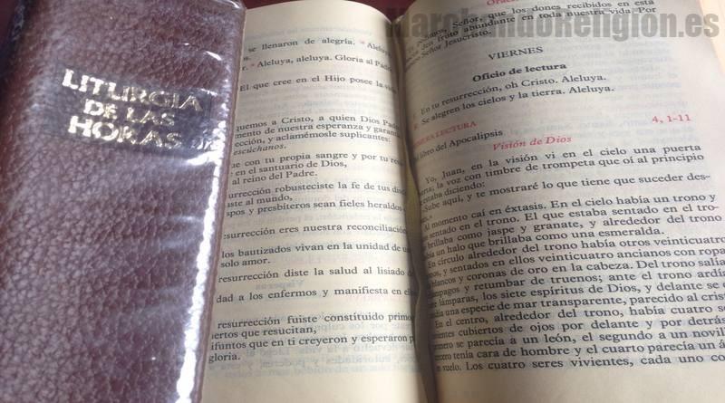 Liturgia de las horas-MarchandoReligion.es