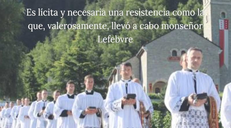 Intervención de los Sacerdotes del Distrito italiano de la Hermandad de San Pío X-MarchandoReligion.es
