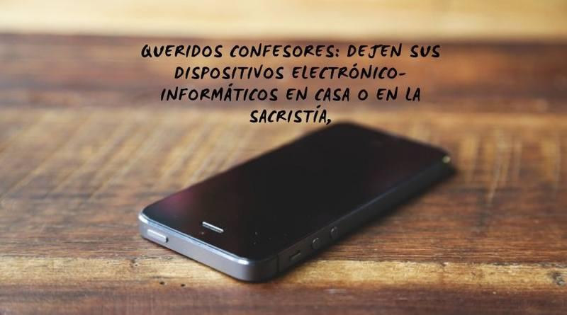 Se necesita el Smartphone en el Confesonario-MarchandoReligion.es