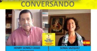 Henry Gómez Conversando con Sonia Vázquez-MArchandoReligion