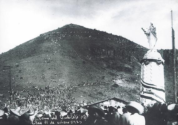 Cerro del Cubilete en Silao Guanajuato-La guerra cristera