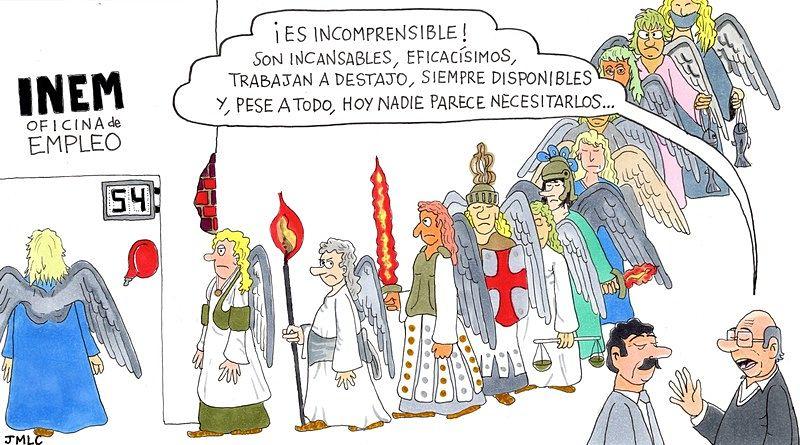 Enviados al paro-MarchandoReligion.es