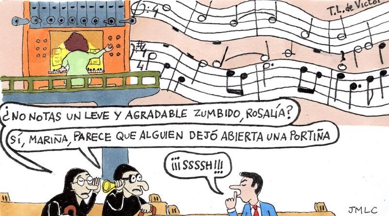 La inapreciable música sacra