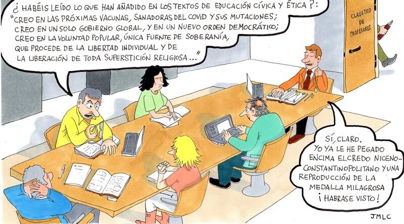 Educación desconcertada-MarchandoReligion.es