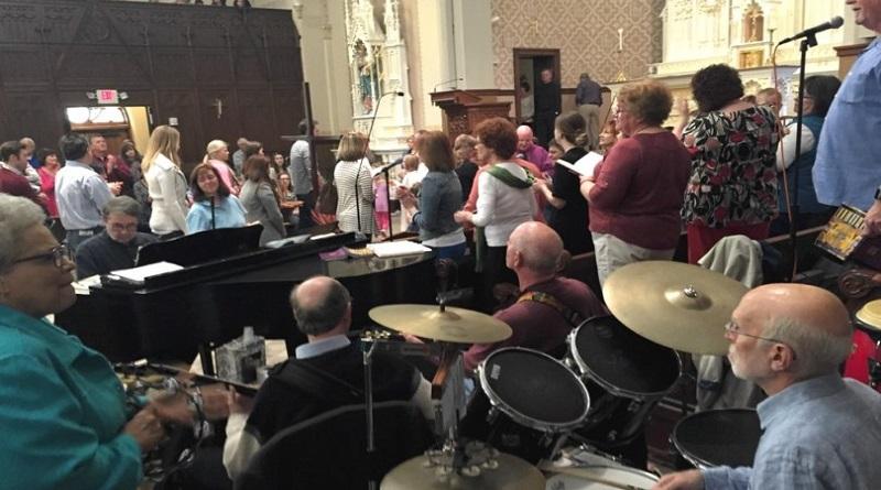 mala música en la Iglesia